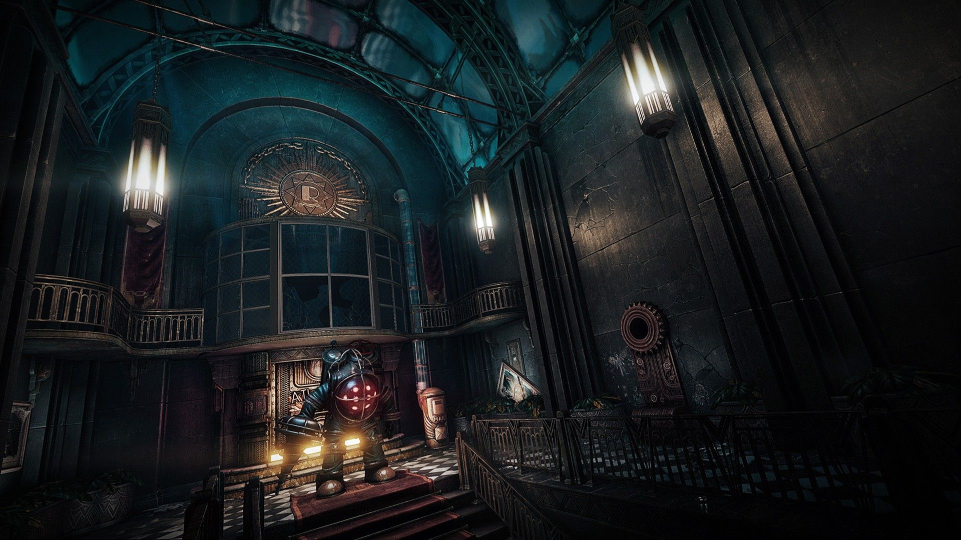 Collection of Bioshock Rapture Wallpaper on HDWallpapers 1920×1080 Rapture BioShock Wallpapers (48 Wallpapers) | Adorable Wallpapers