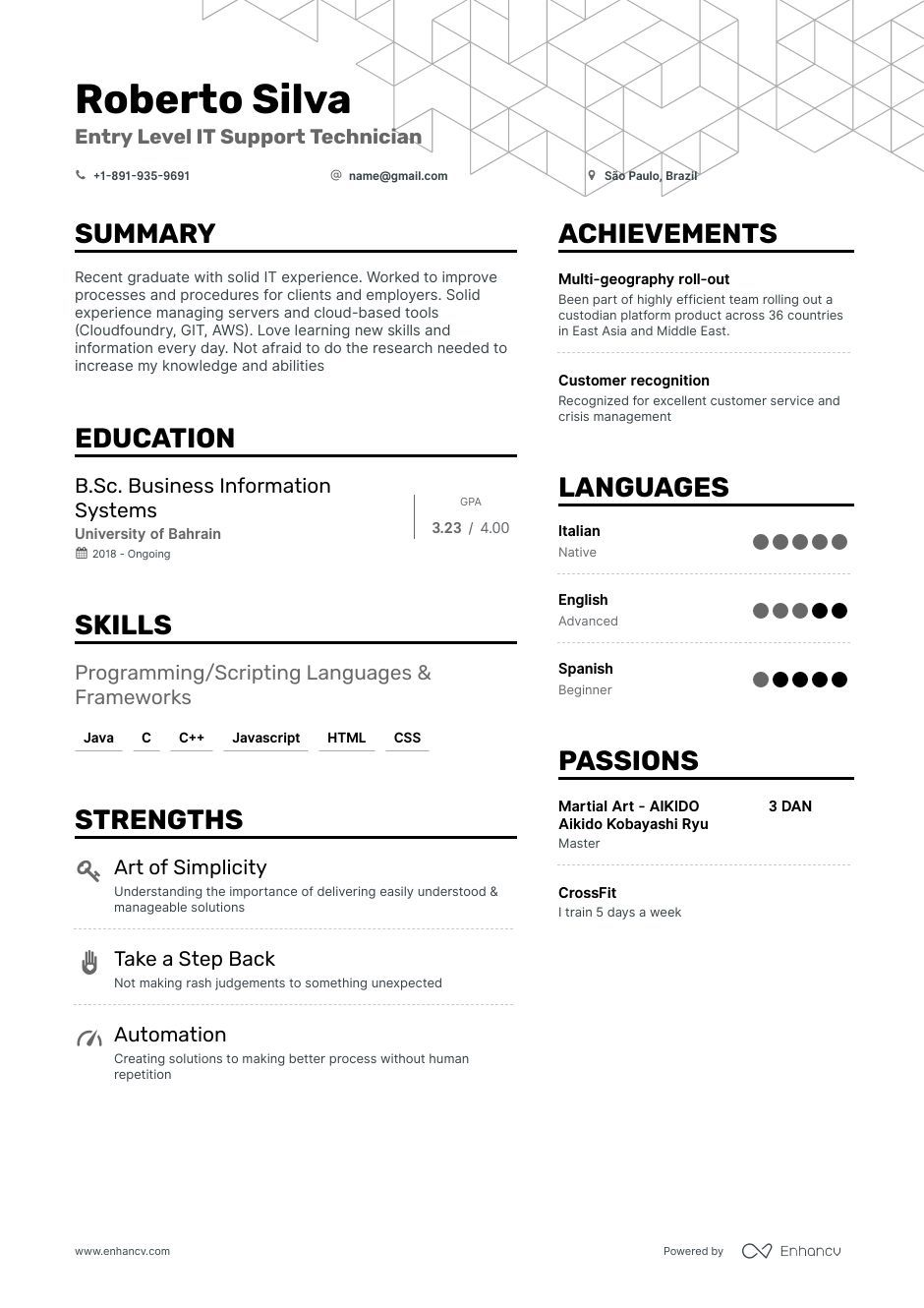 Entry Level IT Resume Examples + Expert Advice Resume