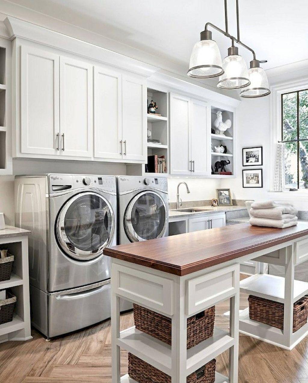 04 Best Modern Farmhouse Laundry Room Decor Ideas