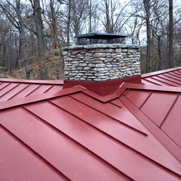 Best Colonial Red 1 Double Lock Stand Seam Metal Roof System 400 x 300