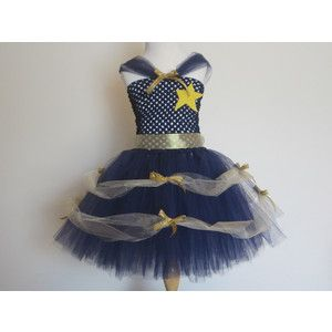 Princess PoPo Tutu Dress Police Costume Baby Girls Toddler H ...