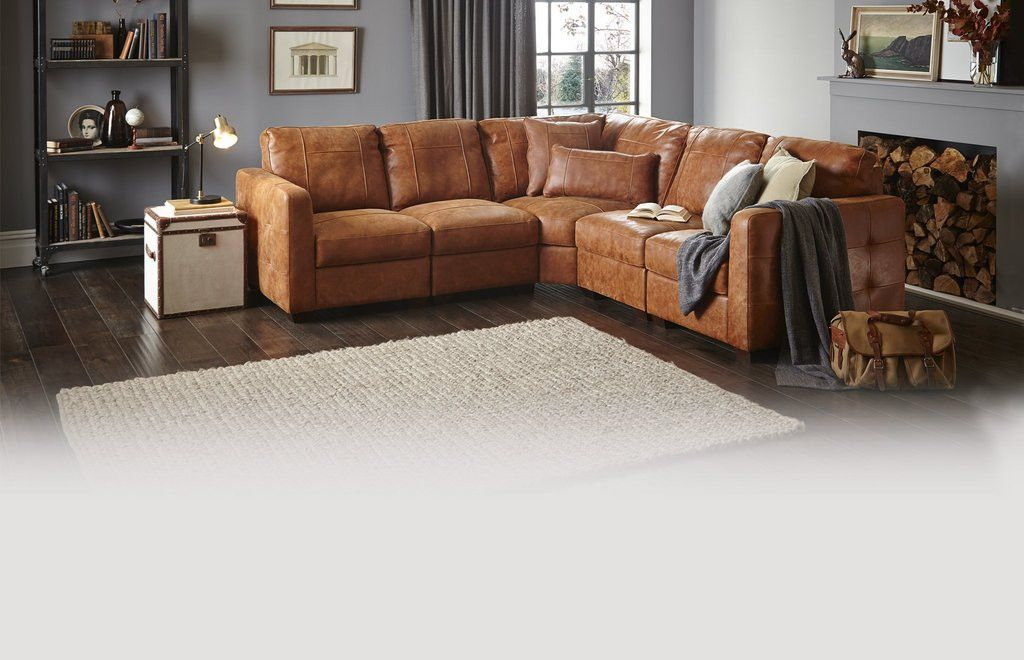 Tan And Blue Grey Brown Living Room Living Room Grey Brown Sofa Living Room #small #living #room #with #corner #sofa
