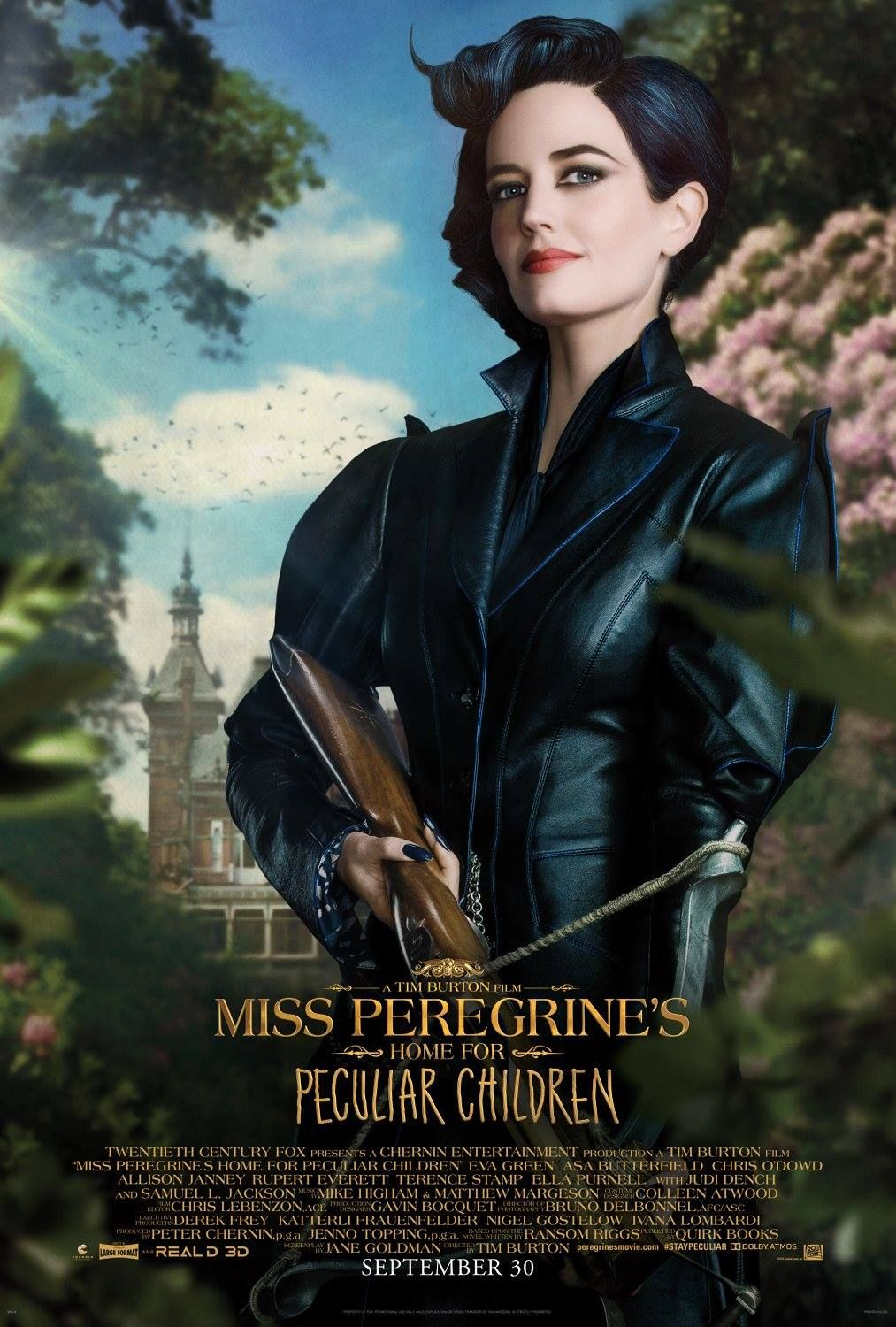 Home For Peculiar Children Character Posters Released Miss Peregrines Home For Peculiar Peculiar Children Movie Peculiar Children