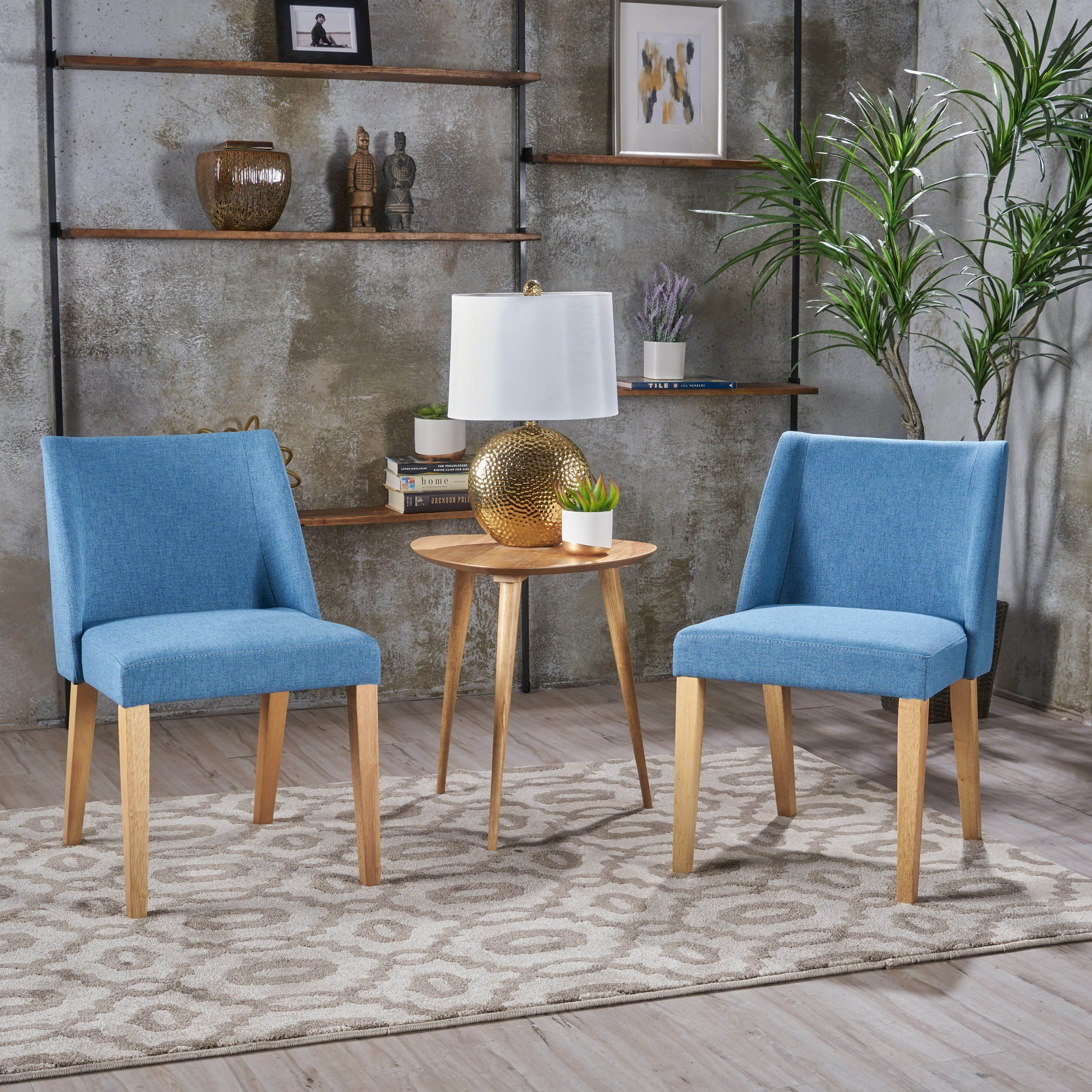 Best Radcliffe Fabric Side Chairs Set Of 2 Accent Chair Set 400 x 300