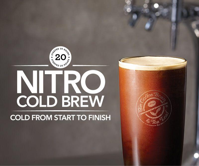 Coffee Bean Beats Starbucks By Bringing Nitro Coffee To Socal Nitro Coffee Coffee Yogurt Coffee Beans