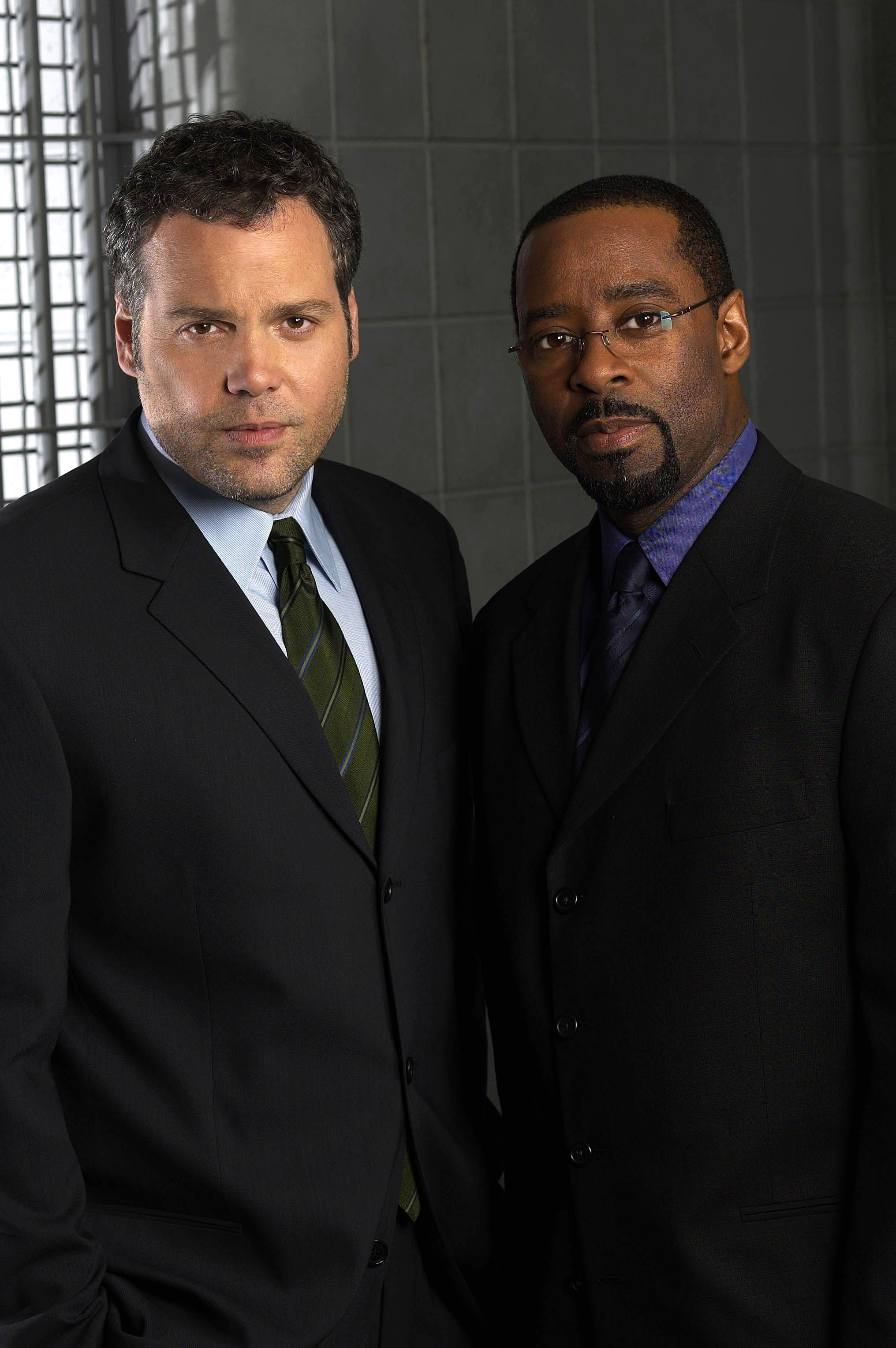 Vincent D Onofrio And Courtney B Vance Law Order Criminal Intent Law And Order Actors Vincent D Onofrio