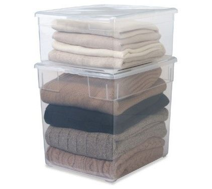 5 99 Sweater Storage Container Store Store Handbags And Purses Container Store Sweater Box Sweater Storage