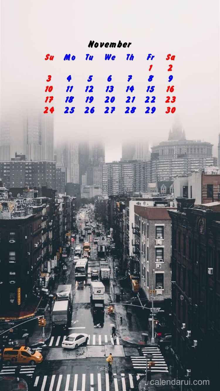 The Best November Iphone Calendar Wallpaper Free