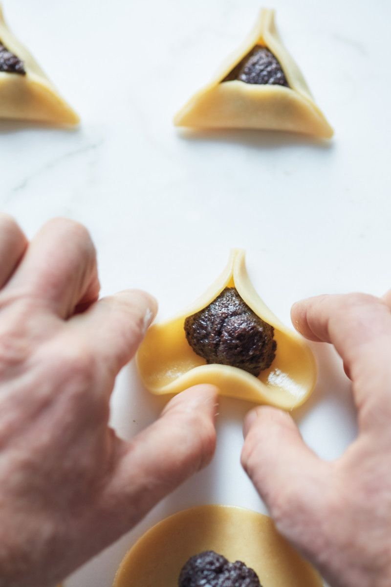 In Late Winter Around Purim Time Hamantaschen Floods Every Bakery And Grocery Store In Israel But Li Jewish Holiday Recipes Jewish Recipes Hamentashen Recipe
