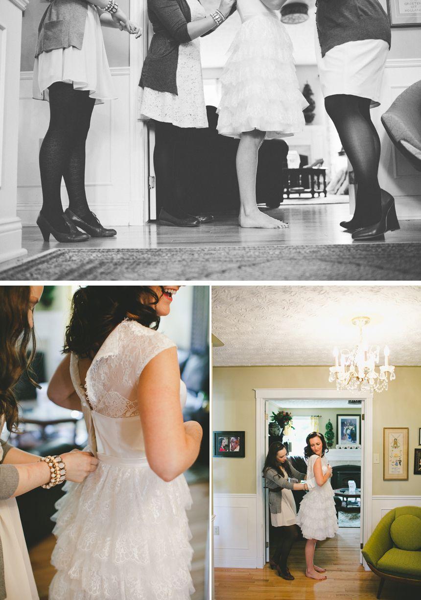 Dress by Ivy & Aster  Photography by Shari + Mike Photographers Saint John Destination Wedding