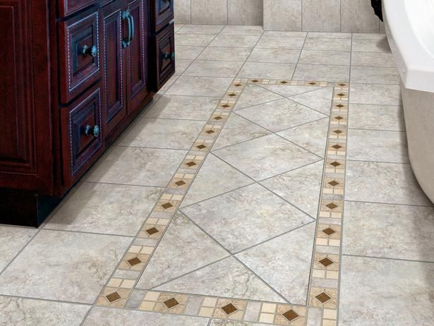 Choosing Bathroom Flooring Patterned Floor Tiles Ceramic Floor