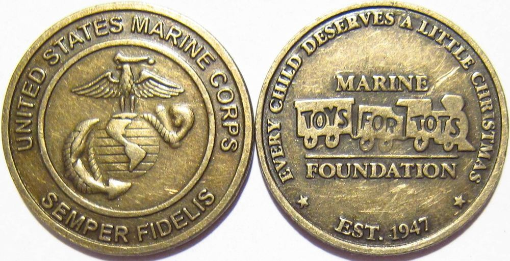 Details about Marine Corps Toys For Tots Foundation, Est