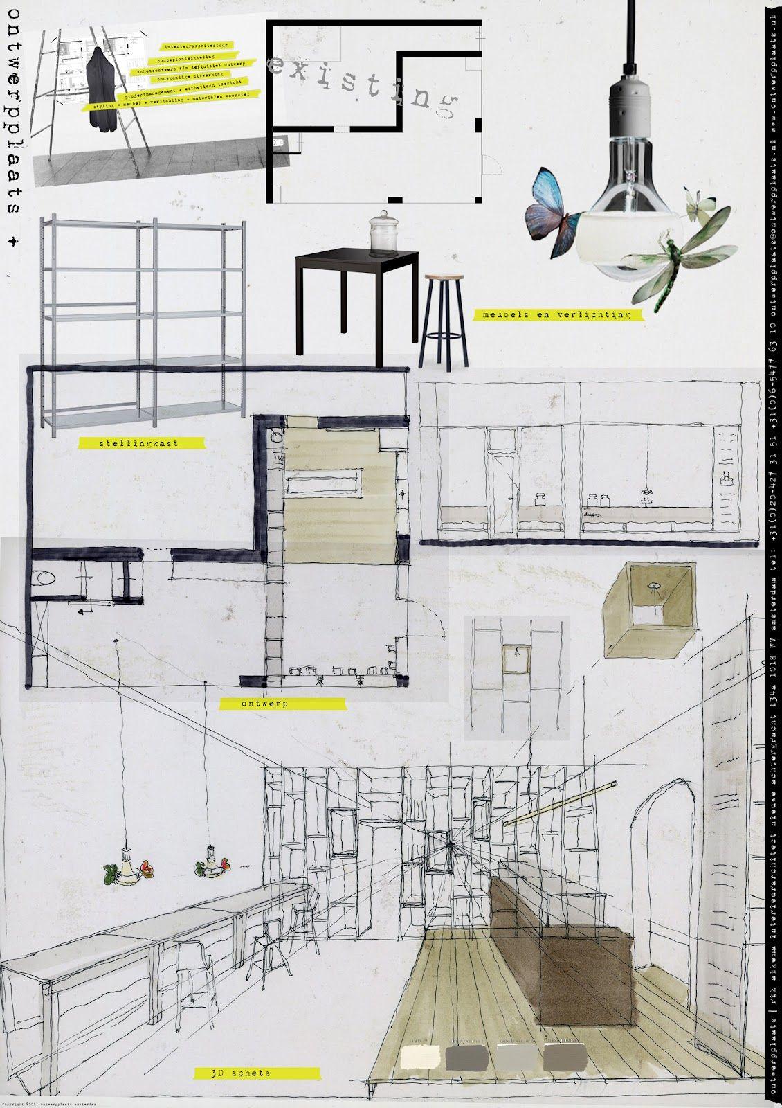 concept layout dibujos bocetos pinterest