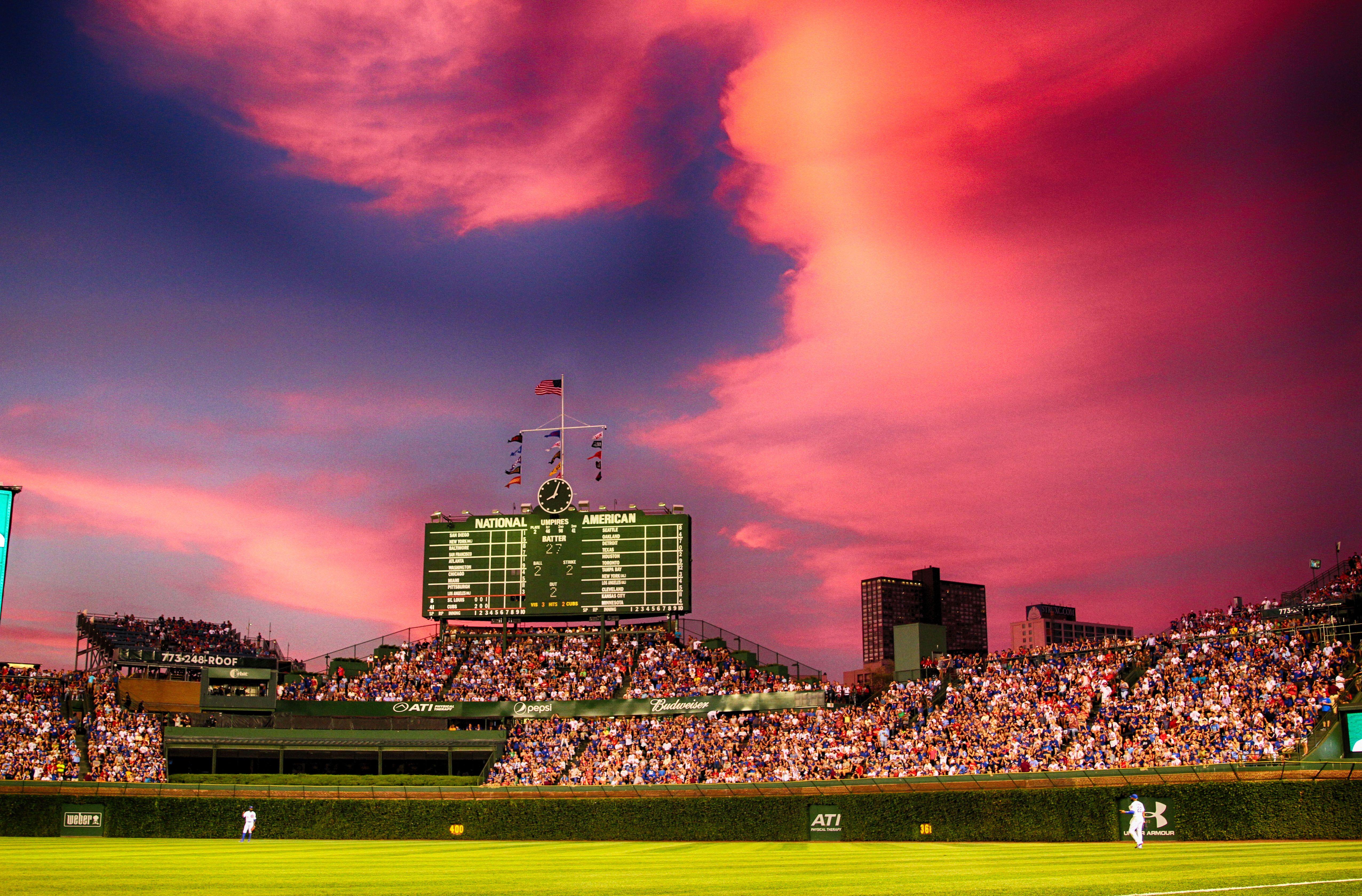 Mlb Power Rankings Top 30 Stadiums Of All Time Mlb Stadiums Best Baseball Stadiums Wrigley Field