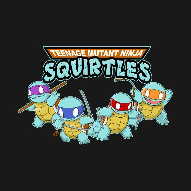 Squirtle Power by jparish