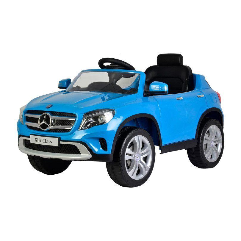 Kids toys mercedes gla 12v blue best ride on cars in