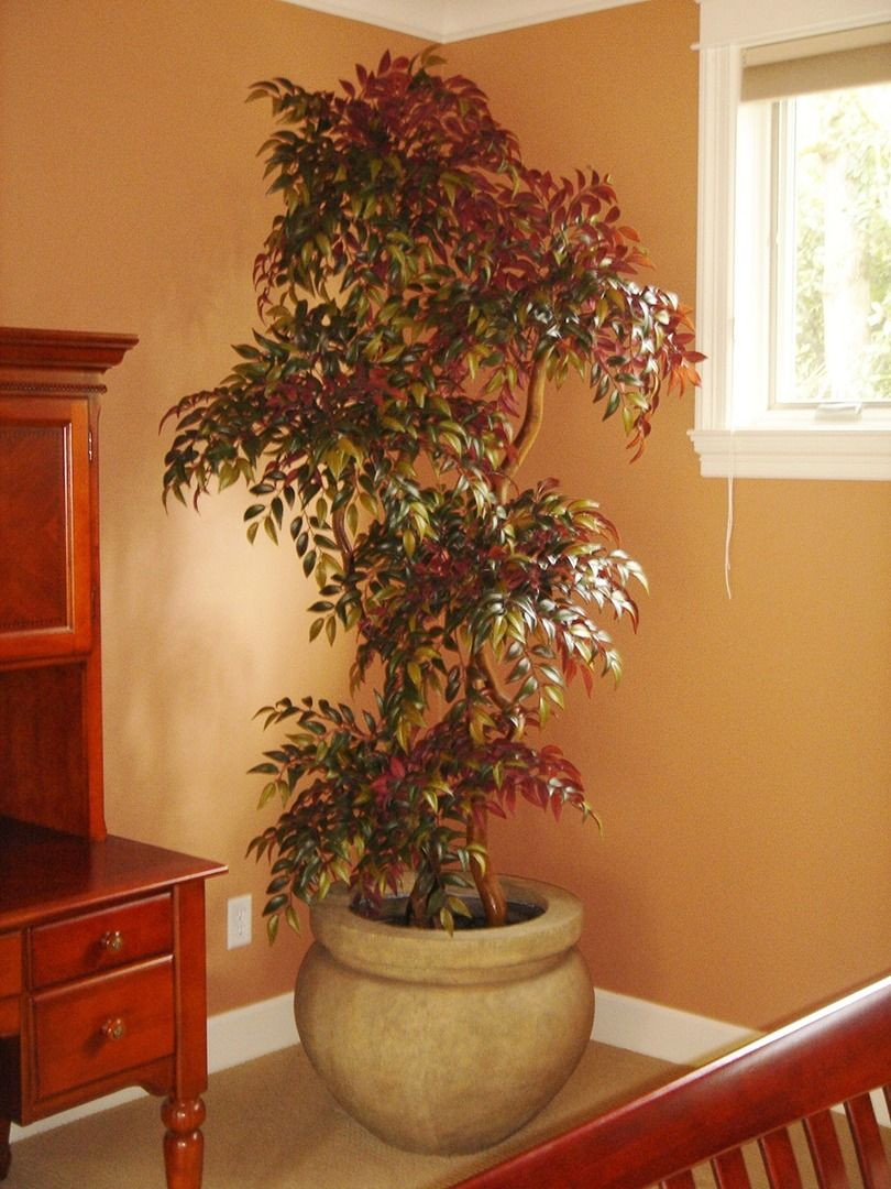 artificial house plants living room custom made artificial trees living room 19510