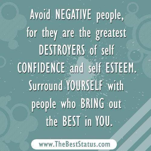 Negative People Insult And Criticize And Bring You Down Negative