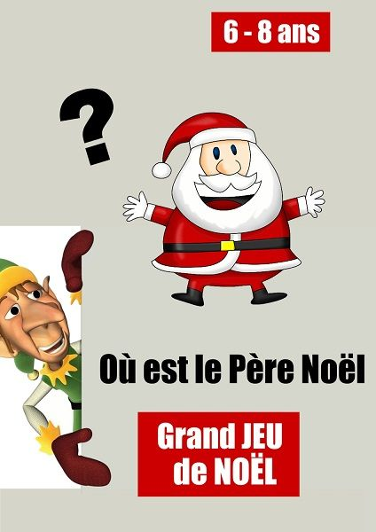 Grand Jeu De Noel 6 8 Ans Jeux Noel Activites De Noel Pour Enfants Noel