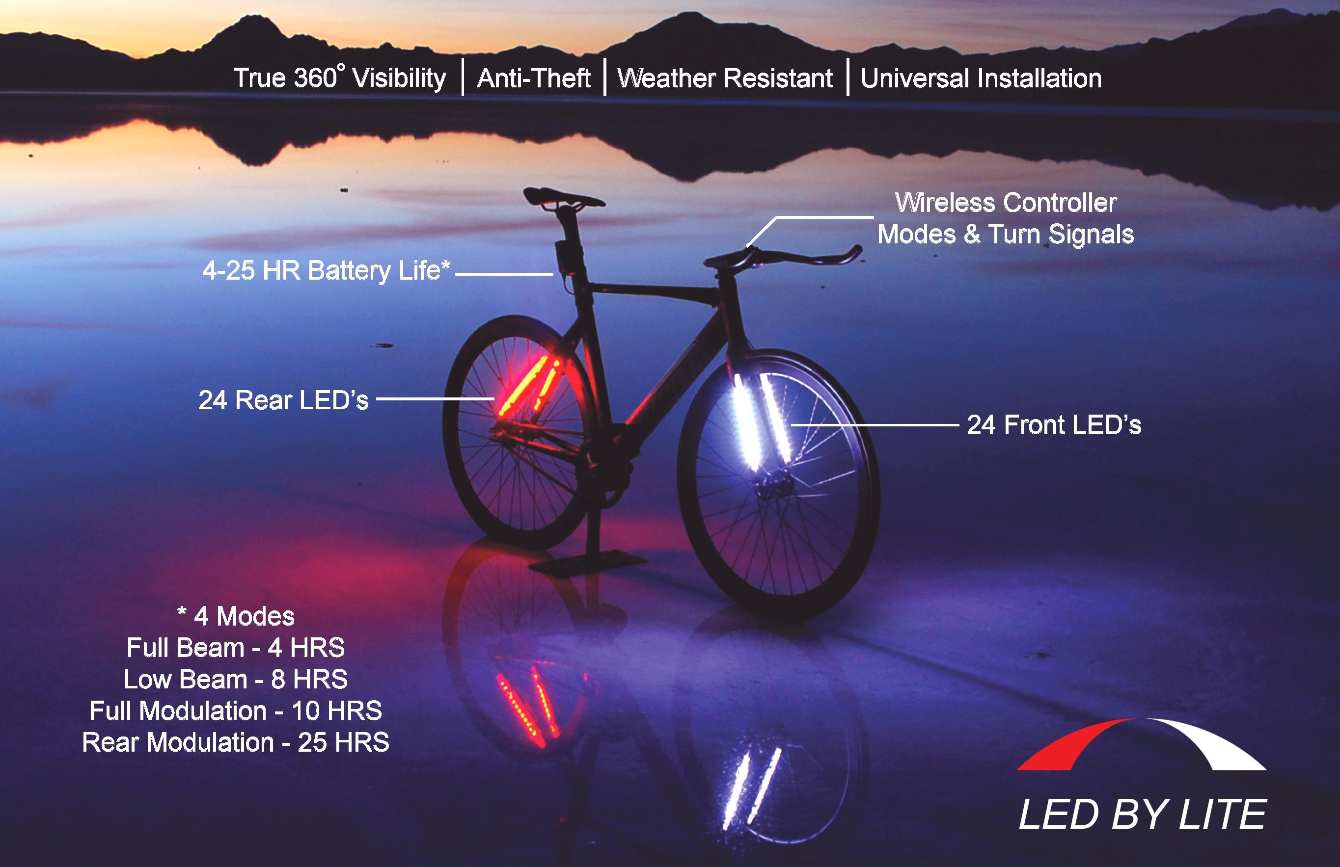 lightrider light bike diy lights led lighting id