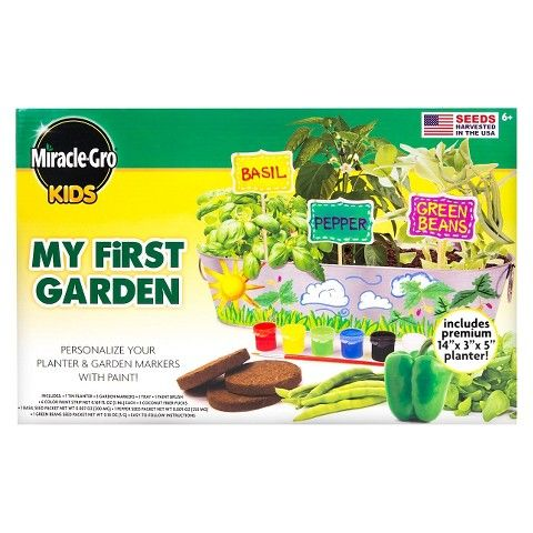 Elegant Miracle Gro Kids My First Garden