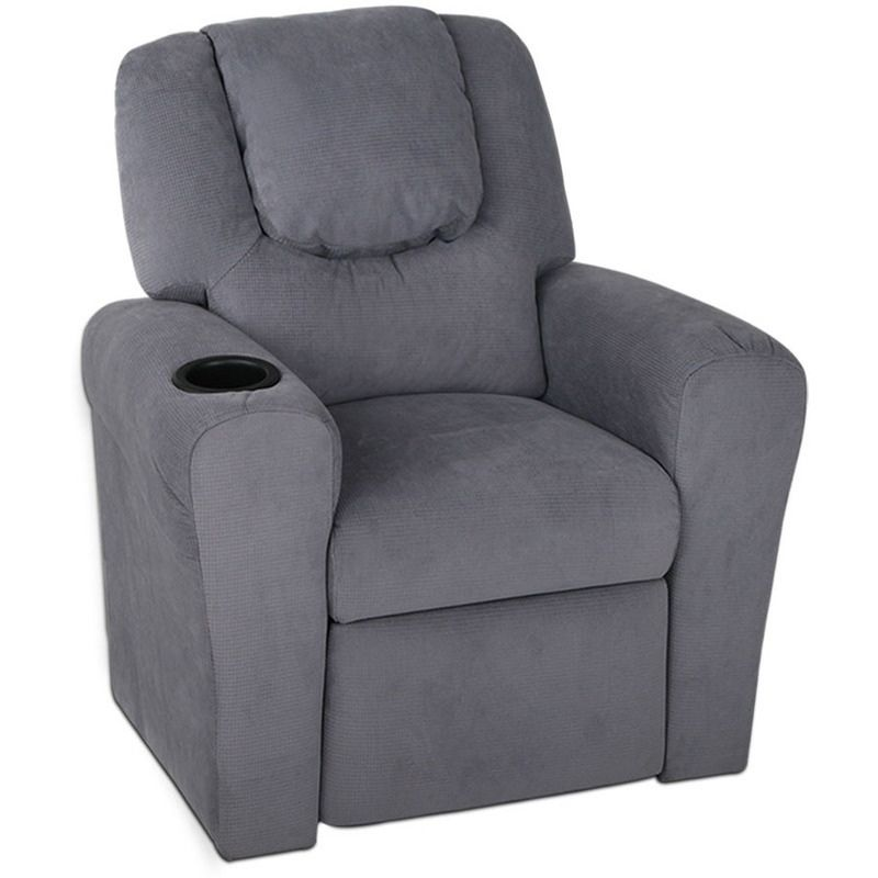 recliner chair with cup holder walmart