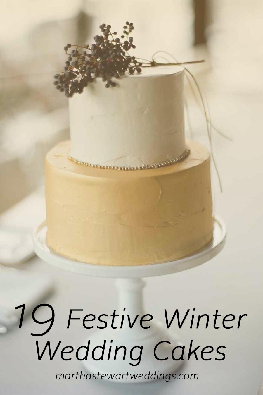 19 Festive Wedding Cakes | Martha Stewart Weddings Best Cake for birthday  #cakerecipe  #dessert