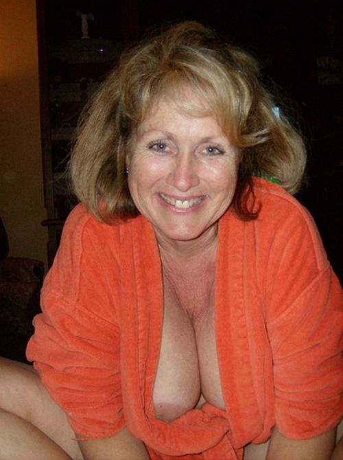 Beautiful natural mature women