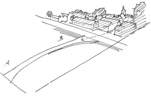 Footbridge in Maribor / Arhitektura d.o.o. | ArchDaily
