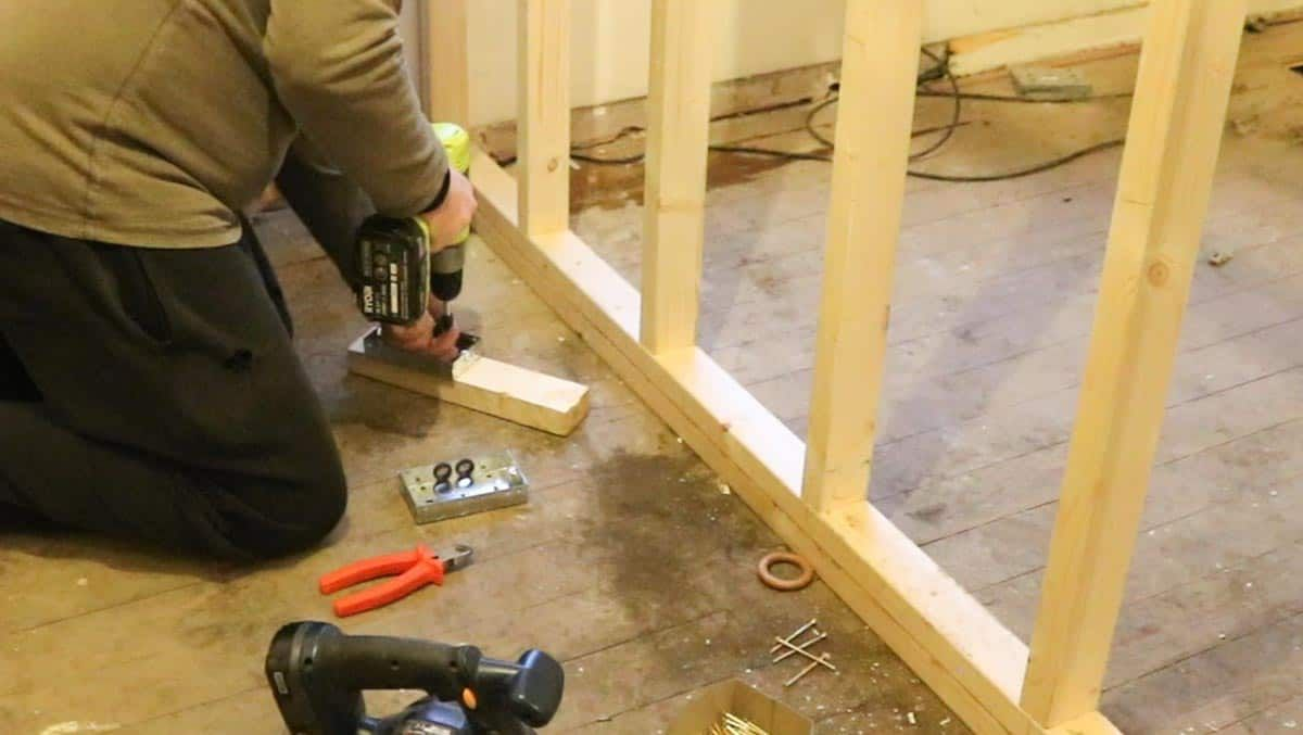 How to Build a Partition Wall (With images) Partition