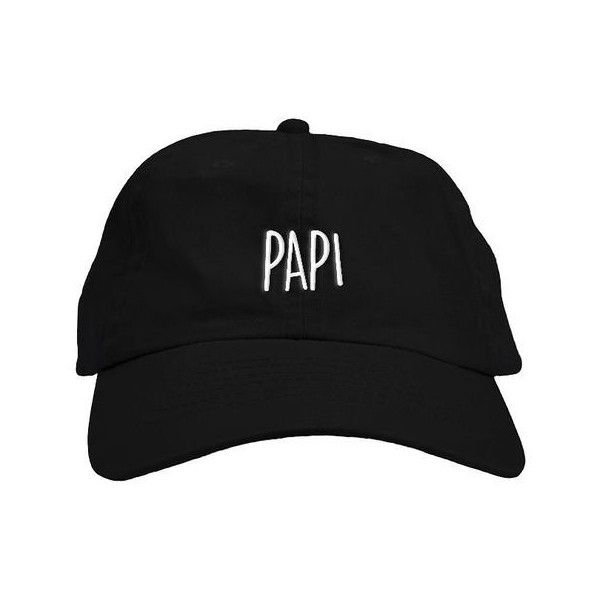 320afbd75df Papi Dad Hat ( 32) ❤ liked on Polyvore featuring accessories