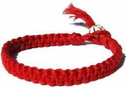 La Cinta Roja Es Un Amuleto De Protección Muy Poderoso Amuletos De Buena Suerte Pulsera Roja Pulsera De La Suerte