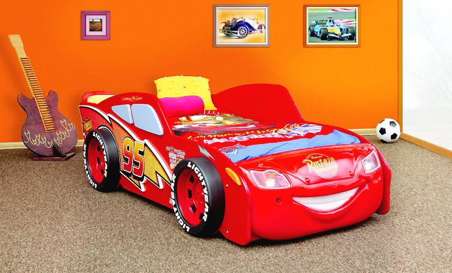 Kinderbett Cars