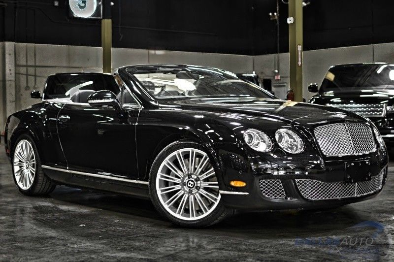 2010 Bentley Continental GT GTC Speed Convertible 2Door