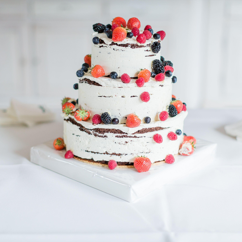 Beruhrende Diy Hochzeit In Apricot Und Grun Cake Yummy Pinterest