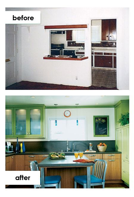 6 before and after kitchen cabinets statement green doors are an innovative storage solution in on kitchen organization before and after id=78671