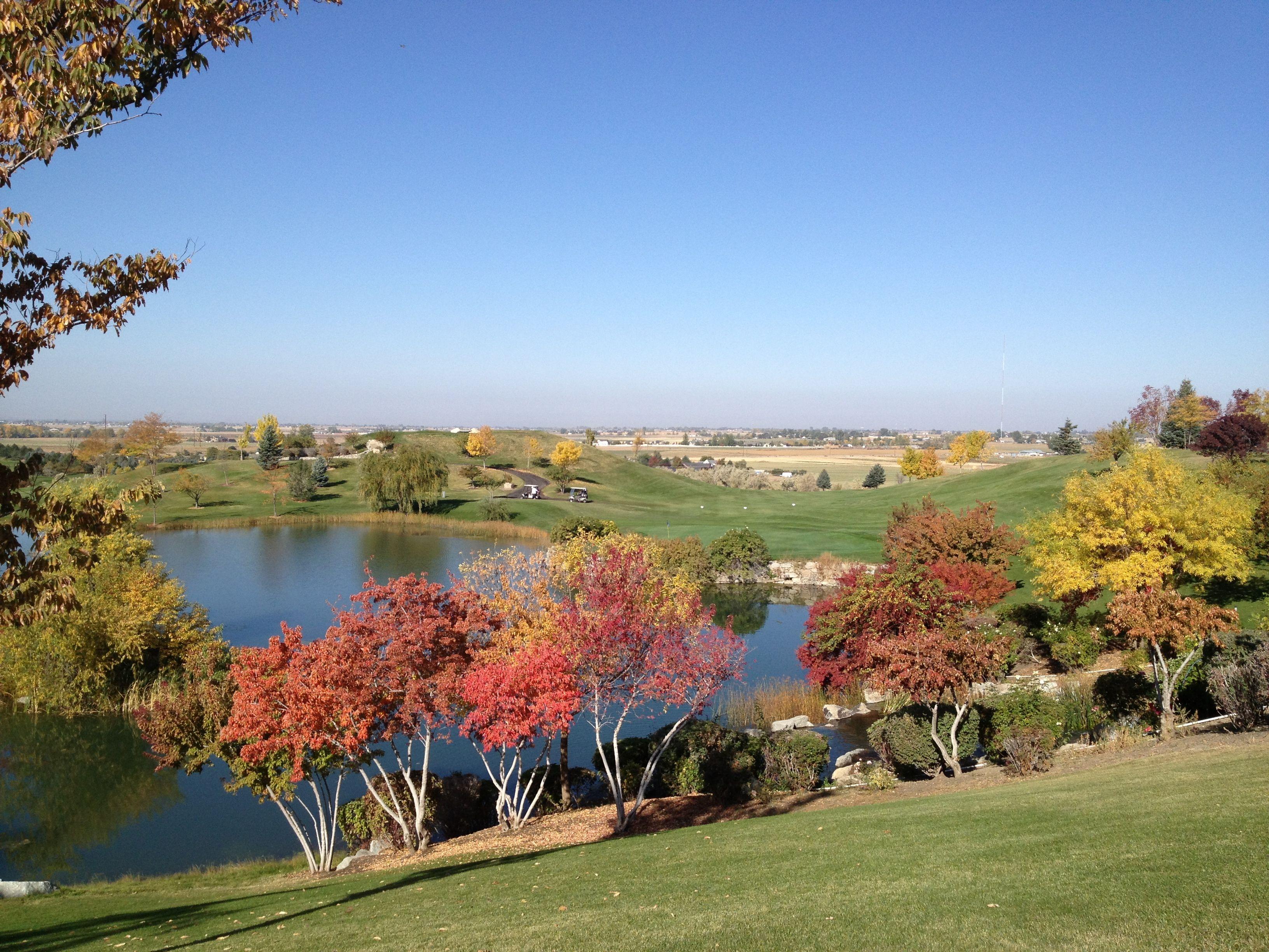 Idaho Has Beautiful Fall Seasons Falcon Crest Golf Course Boise Idaho Golf Courses Beautiful Fall Boise