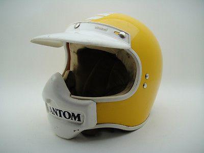 Vintage Italian Vitaloni Phantom Helmet Motorcycle Cross Motocross Racing Rare Motocross Racing Italian Motorcycles Motocross