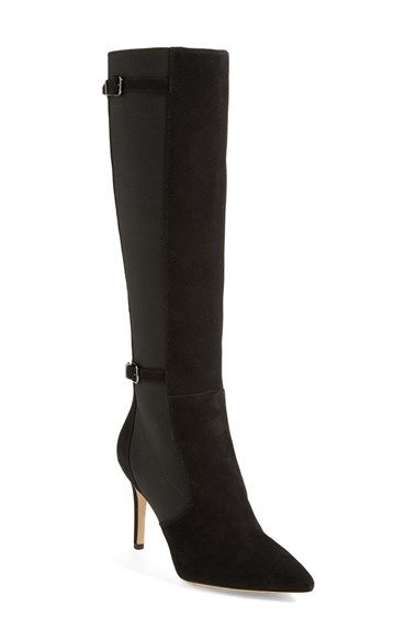 Via Spiga \'Cecil\' Pointy Toe Suede Boot available at #Nordstrom ...