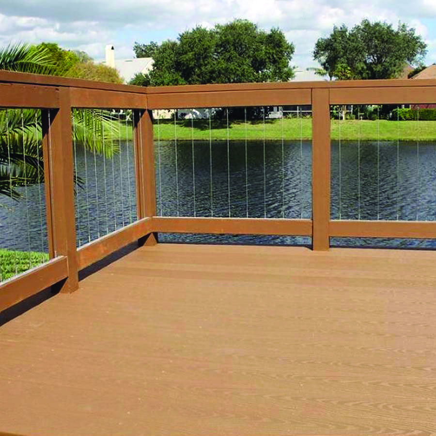 Forms Of Attractive Deck Barriers | Wood deck railing | Deck