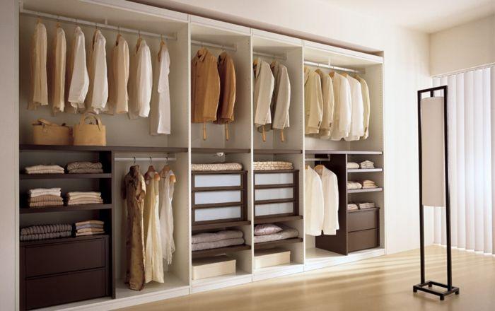 Perfect Offener Kleiderschrank Beispiele wie der Kleiderschrank ohne T ren modern und funktional vorkommt Fresh Ideen f r das Interieur Dekoration und