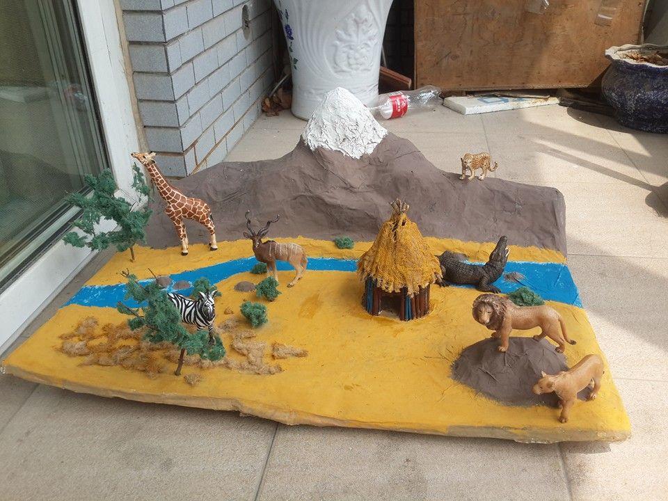 Resultado de imagem para caixa de sapato desenho de savanas