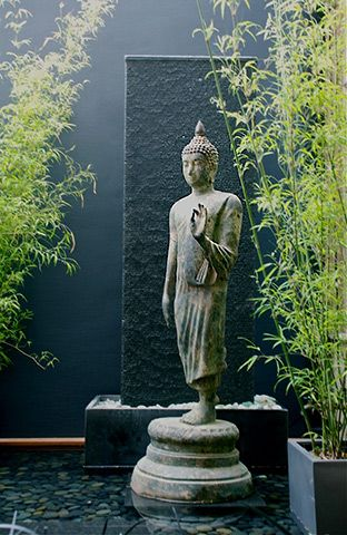 What\'s new at Living Green - Buddha beautiful fountain pond ...