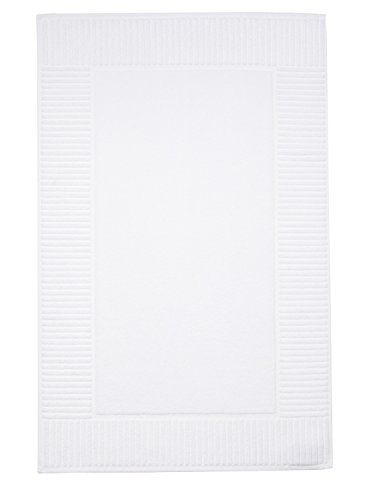 Chortex Oxford Bath Mat, White, 22
