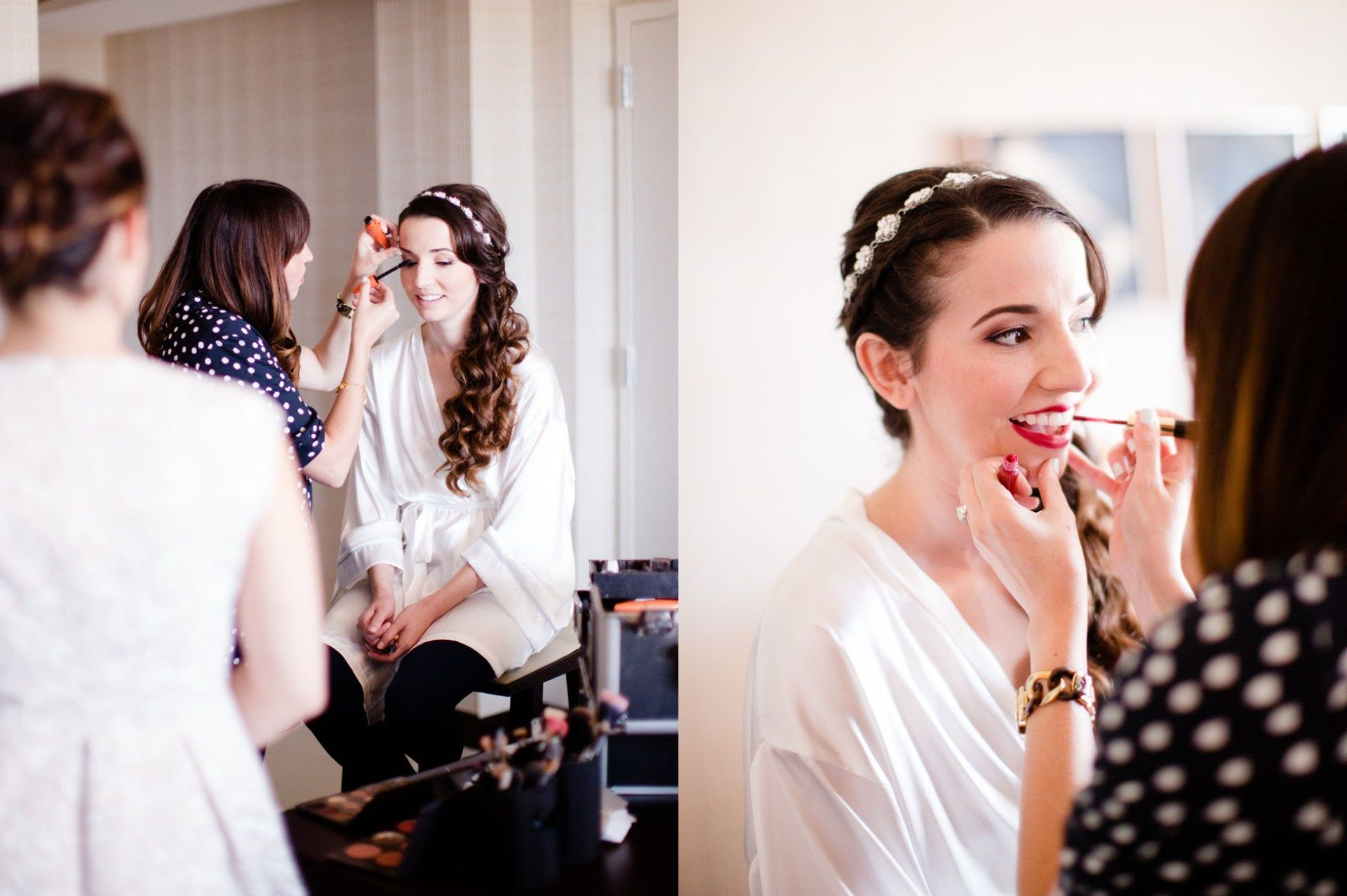 beauty | chels & huani bridal hair & makeup in oc, la + san diego