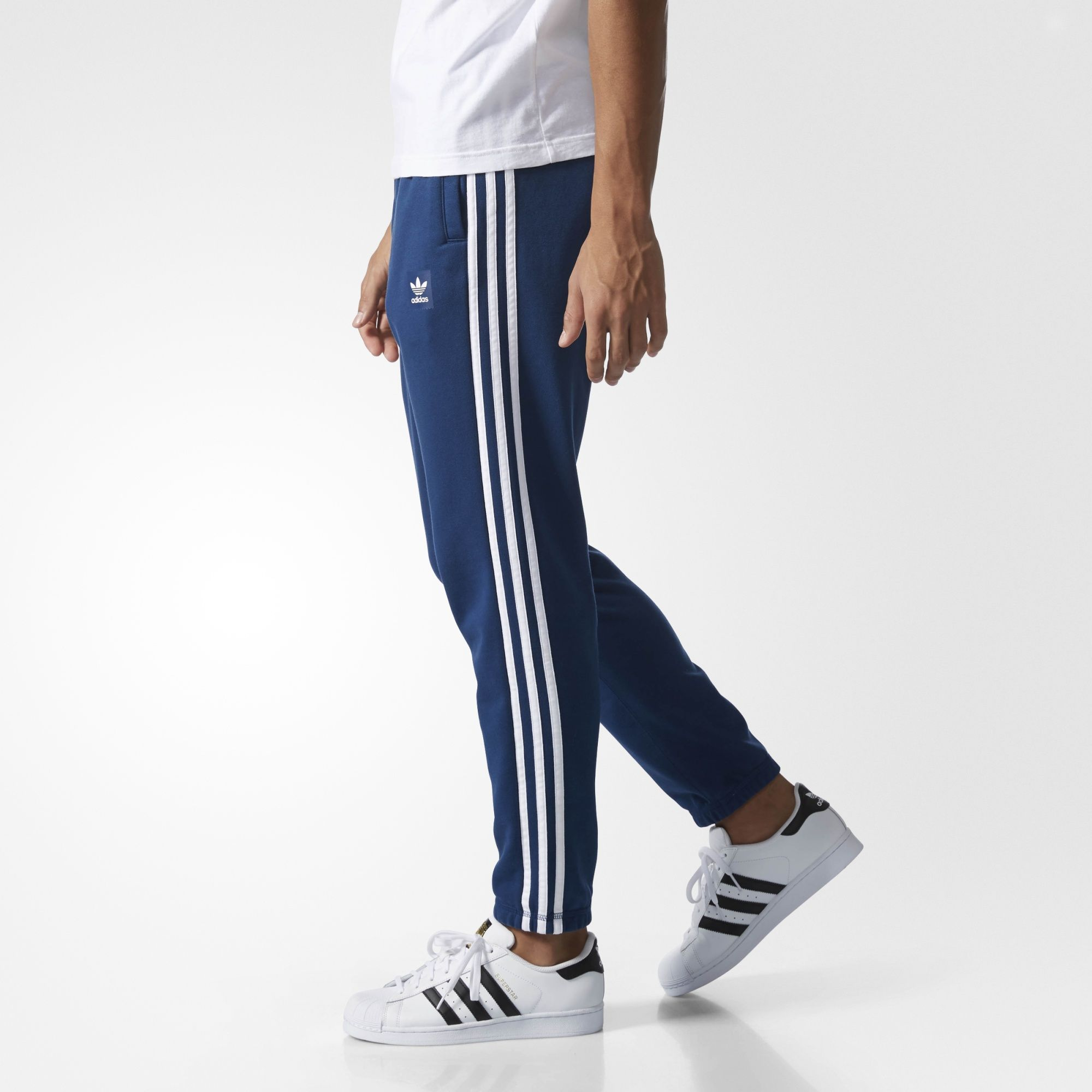 adidas Брюки Climalite Skate   Мужские синие брюки