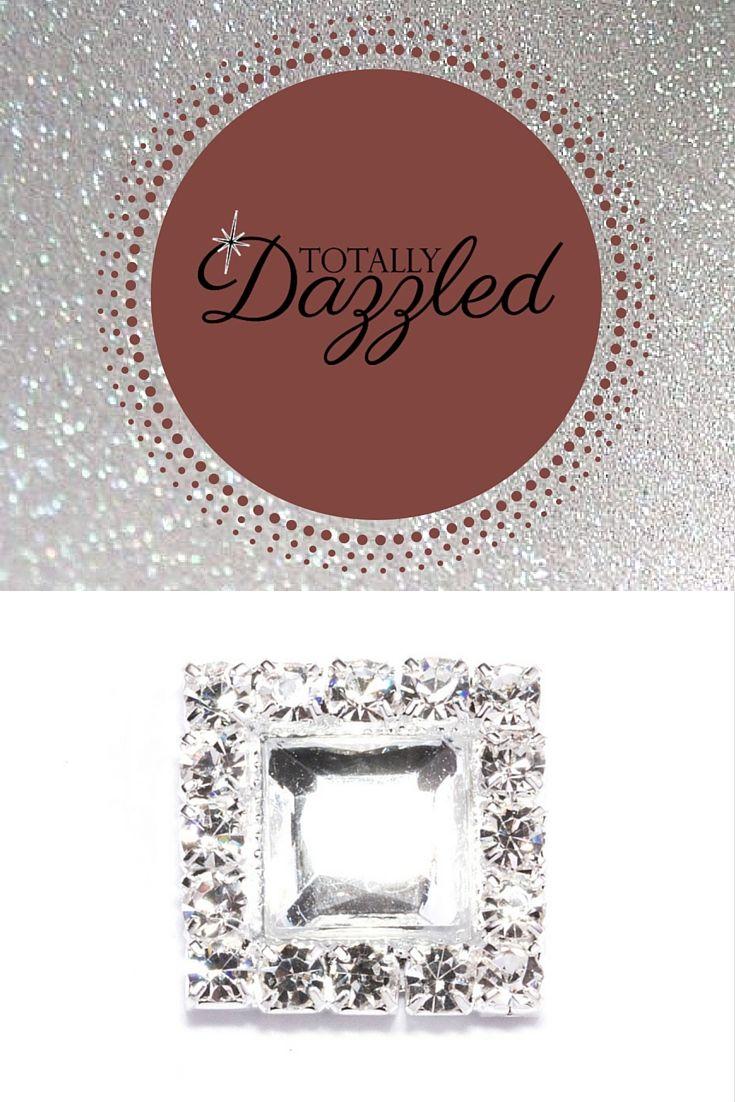 Luxury square diamante flat back 502-s   weddings   Pinterest ...