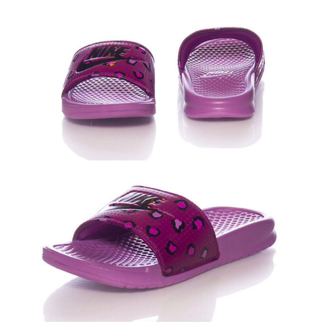 Nike slides, Nike sandals, Cheetah nikes