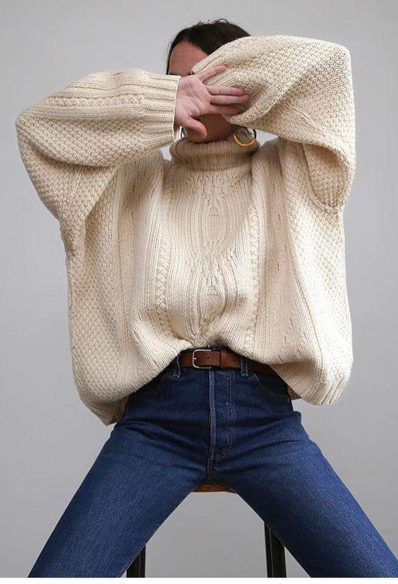 34 superbes idées de pulls – Mode Femme