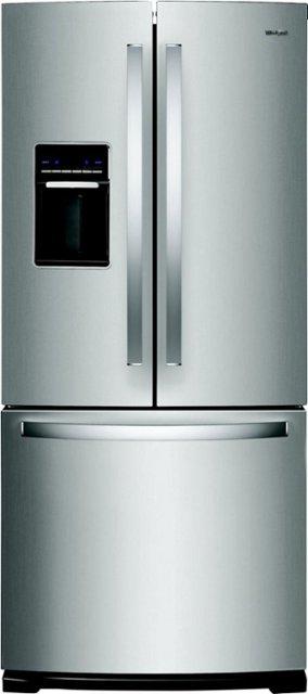 Whirlpool 19 7 Cu Ft French Door Refrigerator Stainless Steel Wrf560sehz Best Buy In 2020 Stainless Steel French Door Refrigerator French Door Refrigerator Stainless Steel Refrigerator